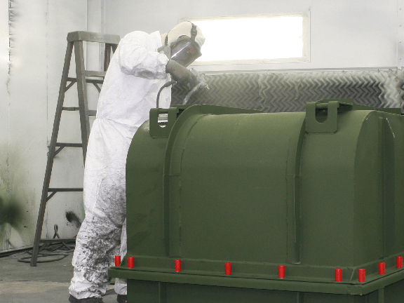 Armor Contract Manufacturing Worker in Wet Paint & Finishing Process