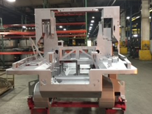 Armor Contract Manufacturing Machine in Shop