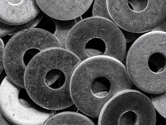 Armor Contract Manufacturing Stamping Washers Pile