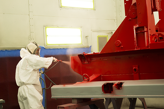 Cincinnati Powder Paint / Powder Coating and Finishing Process